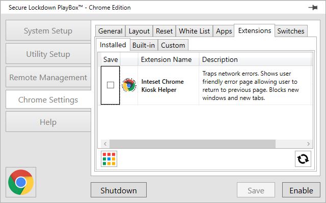 settings chrome plugins